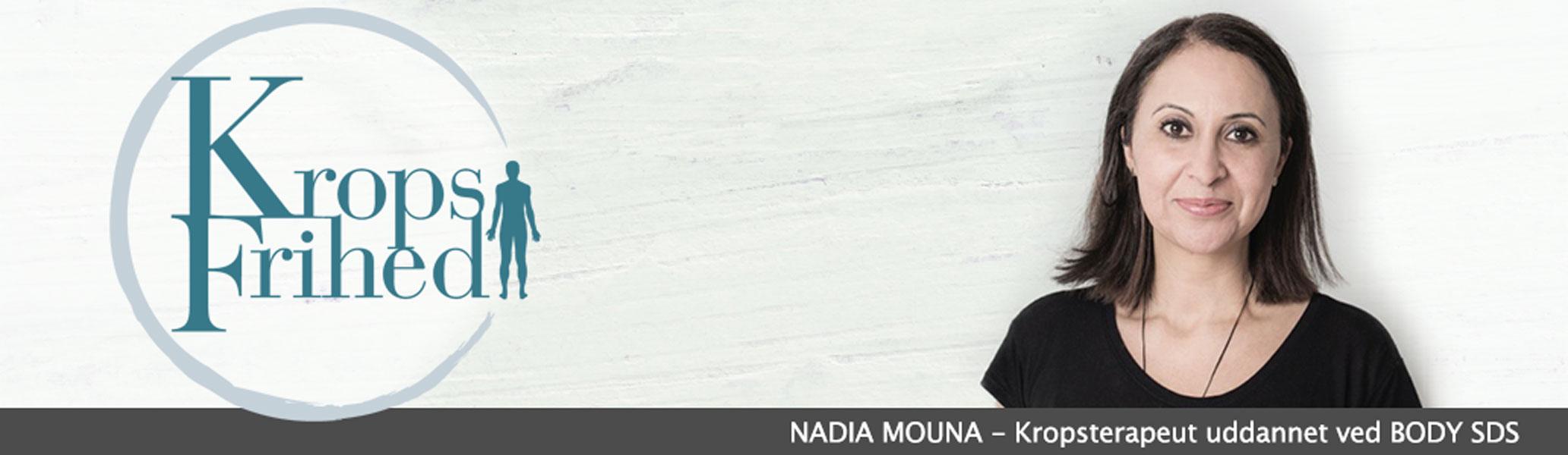 NADIA MOUNA - Kropsterapeut uddannet ved BODY SDS
